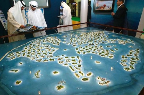 City Model Dubai on water