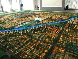 City Model master plan
