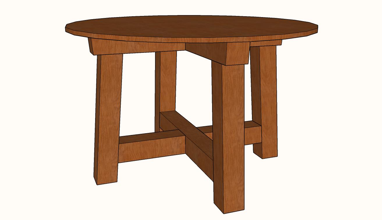 Phenomenal Round Table Plans Cerno Mioduchowski Org Squirreltailoven Fun Painted Chair Ideas Images Squirreltailovenorg