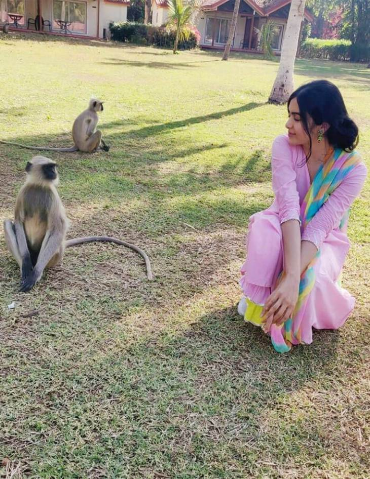 Adah Sharma Animal Lover