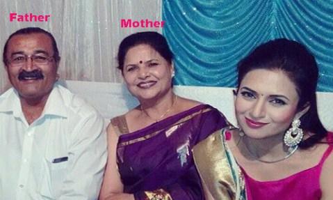 Divyanka Tripathi Father and Mother