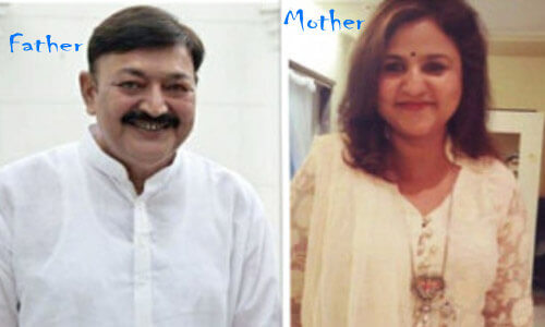 Neha Sharma father and mother