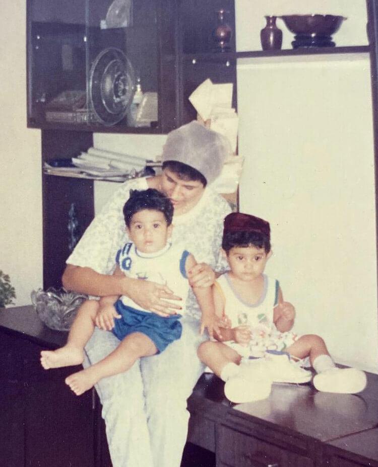Amyra Dastur Childhood Image