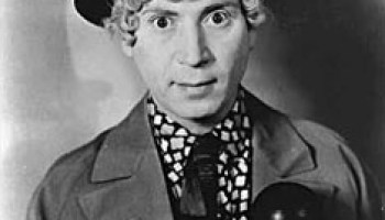 Harpo Marx Without Wig