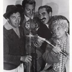 The Marx Brothers - Chico, Zeppo, Groucho, Harpo