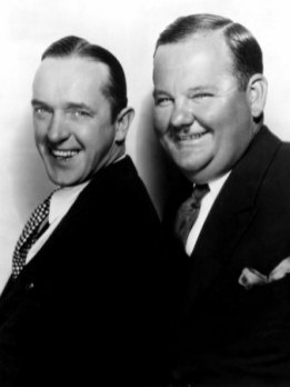 Stan Laurel and Oliver Hardy - 1930's