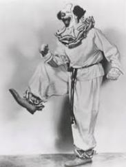 Pinto Colvig as Bozo the Capital Clown publicity photo