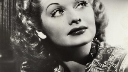 Lucille Ball black and white photo