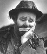 Emmett Kelly as Weary Willie