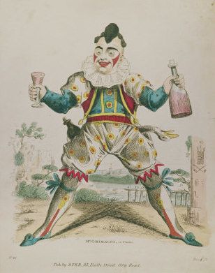 Joseph Grimaldi, father of modern clowning