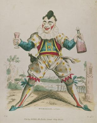 Joseph Grimaldi as Clown