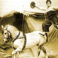 Poodles Hanneford biography - circus clown and trick rider