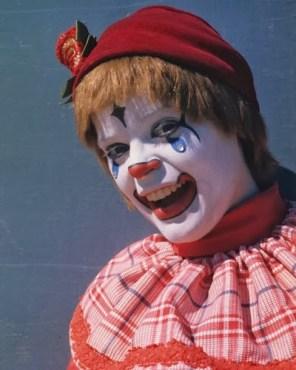 Peggy Williams circus clown