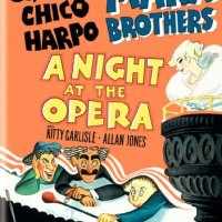 A Night at the Opera, starring the Marx Brothers