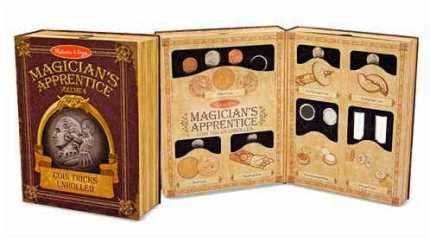 Coin Tricks Unrolled - Melissa & Doug - Magician's Apprentice volume 4