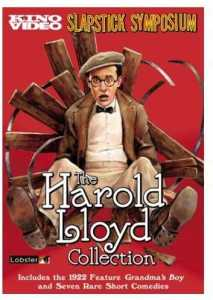 Kino Video Slapstick Symposium - The Harold LLoyd Collection - Includes the 1922 feature Grandma's Boy and seven rare short comedies