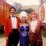 Jimmy Williams photo with ringmaster and lady