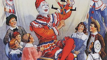 The children's favorite clown - Ringling Brothers circus poster