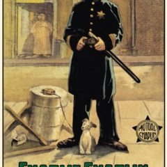 Easy Street (1917) starring Charlie Chaplin, Edna Purviance, Eric Campbell