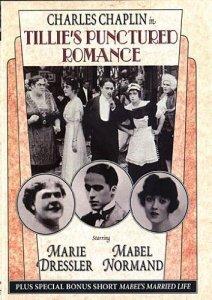 Tillie's Punctured Romance (1914) starring Marie Dressler, Charlie Chaplin, Mabel Normand