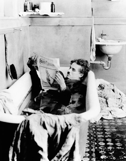 Chaplin in Paris