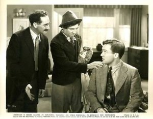 Groucho, Chico, and the suffering author in Room Service
