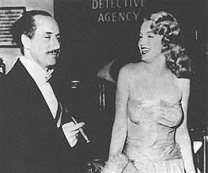 Love Happy, Groucho Marx with Marilyn Monroe