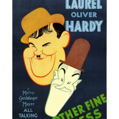 Another Fine Mess, starring Stan Laurel, Oliver Hardy, James Finlayson, Thelma Todd