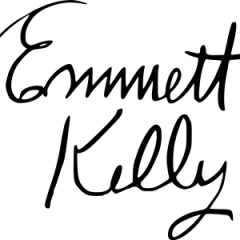Signature of Emmett Kelly
