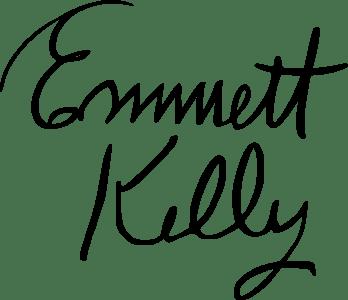 Signature of Emmett Kelly
