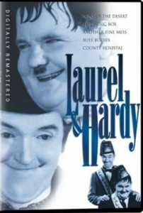 review of Laurel and Hardy DVD (1933) - DVD compilation of Laurel and Hardy's best talking films - Sons of the Desert, The Music Box, Another Fine Mess, Busy Bodies, County Hospital