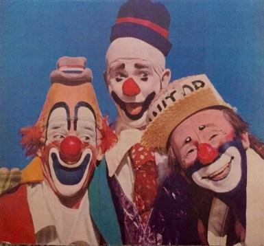 Lou Jacobs, Paul Jerome, Mark Anthony