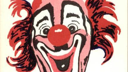 Circus Clown - Lou Jacobs postcard