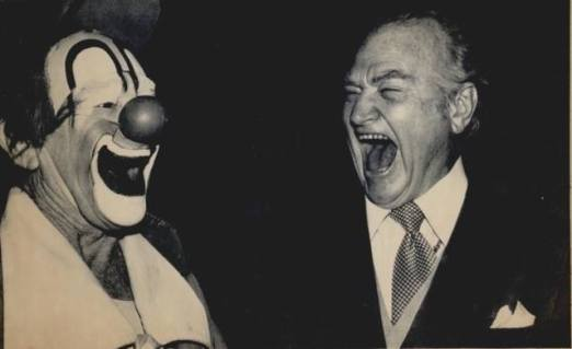 Lou Jacobs and Red Skelton