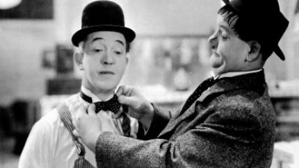 Laurel and Hardy in Tit for Tat