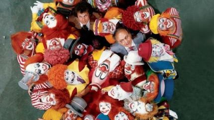 Ringling Brothers clowns in the 1970's