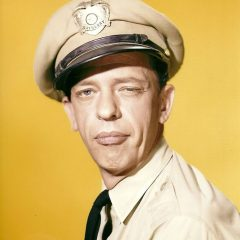 Barney Fife has his eye on you Don Knotts in his most iconic role in The Andy Griffith Show