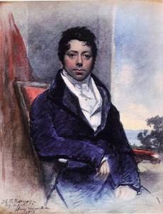 Joseph Grimaldi in 1819 by J.E.T. Robinson