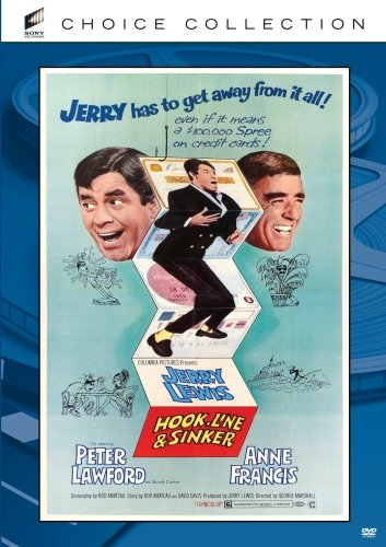 Hook, Line and Sinker (1969) starring Jerry Lewis, Anne Francis, Peter Lawford