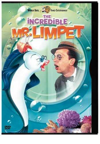 The incredible Don Knotts does a wonderful turn in this film as the incredible Mr. Limpet -- in this mix of animation and live action