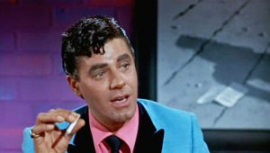 Jerry Lewis as the suave alter ego Buddy Love in The Nutty Professor