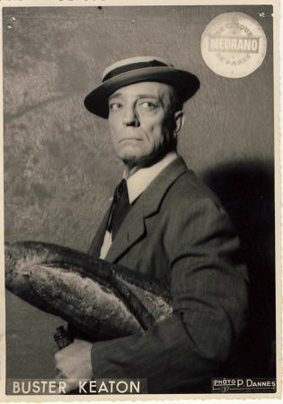 Buster Keaton at the Circus Medrano.