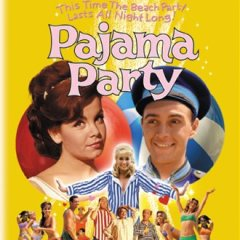 Pajama Party (1964) starring Annette Funicello, Don Rickles, Buster Keaton