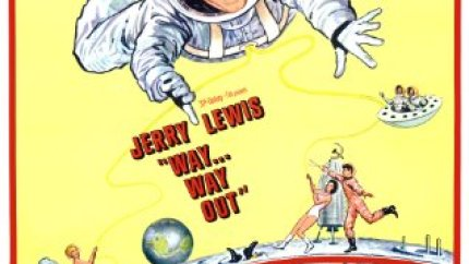 Way ... Way Out (1966) starring Jerry Lewis, Connie Stevens,  Dick Shawn,  Anita Ekberg
