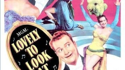 movie review of Lovely to Look At (1952) starring Howard Keel, Kathryn Grayson, Red Skelton, Ann Miller