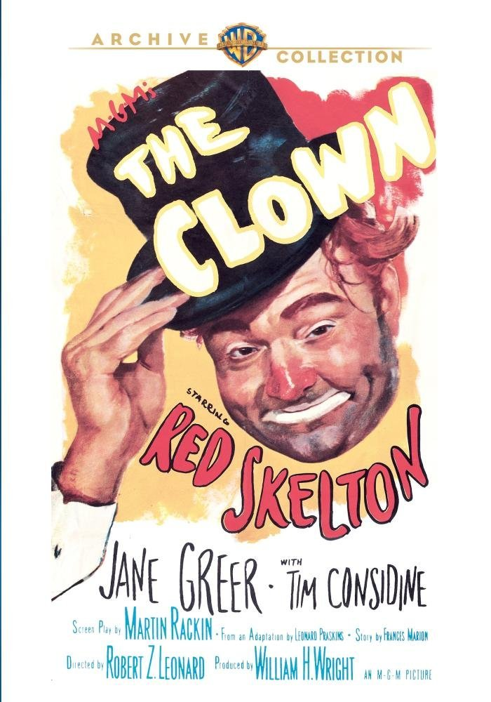 Movie review of The Clown (1953) starring Red Skelton, Tim Consadine, Jane Greer