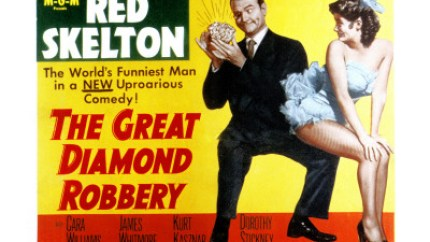 The Great Diamond Robbery starring Red Skelton, Cara Williams, James Whitmore