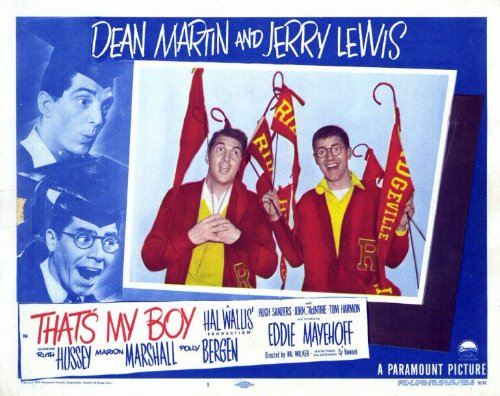That's My Boy (1951) starring Dean Martin and Jerry Lewis