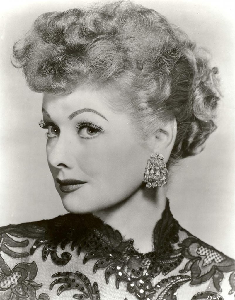 Lucille Ball in an oriental dress