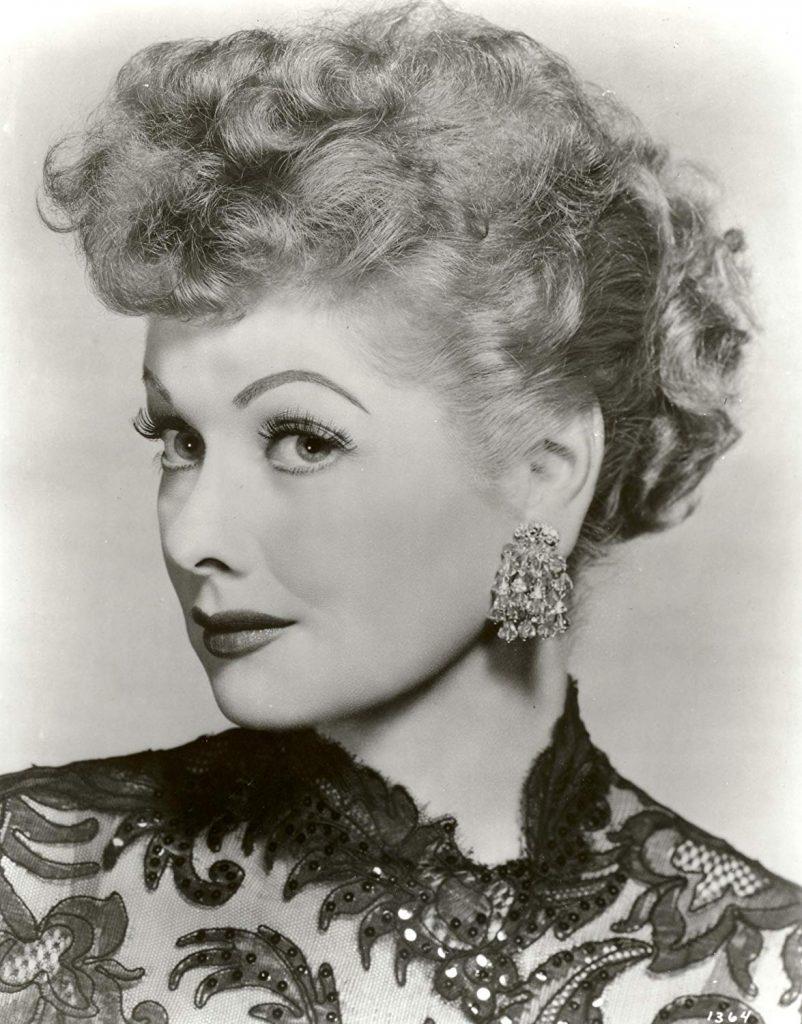 Lucille Ball in an oriental dress